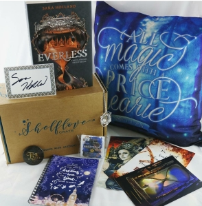 wildandwonderfulreads Dec Shelflove Crate
